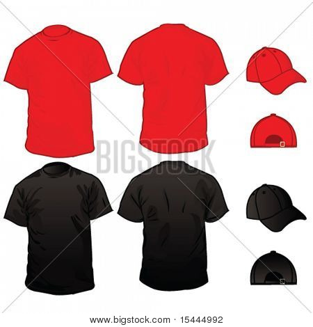 Men's T-Shirt Collection With Cap