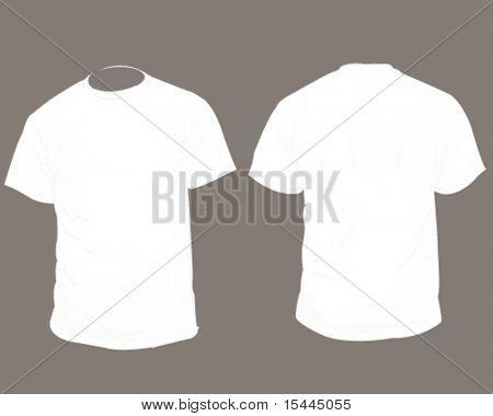 White Blank T Shirt