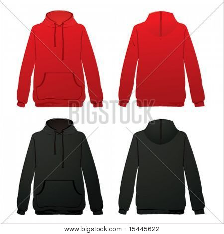 hod-dy in red and black color