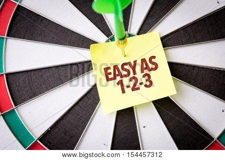 Easy As 1-2-3