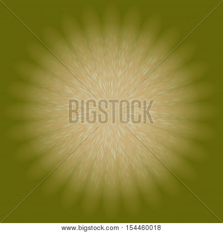 Ochre beige lighting central abstract background backdrop