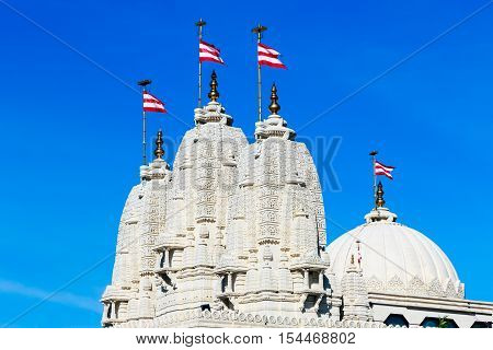Hindu Temple In Neasden London