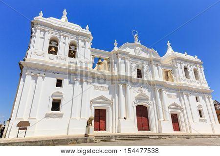 Leon, Nicaragua. Catedral de la Ascuncion de Maria (Mary's Assumption Cathedral)