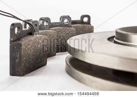 Disc Brakes And Brake Pads