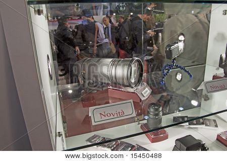 Lente Sigma en Feria de Photoshow