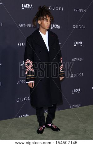 LOS ANGELES - OCT 29:  Jaden Smith at the 2016 LACMA Art + Film Gala at Los Angeels Country Museum of Art on October 29, 2016 in Los Angeles, CA