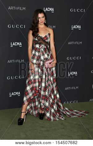LOS ANGELES - OCT 29:  Maya Henry at the 2016 LACMA Art + Film Gala at Los Angeels Country Museum of Art on October 29, 2016 in Los Angeles, CA