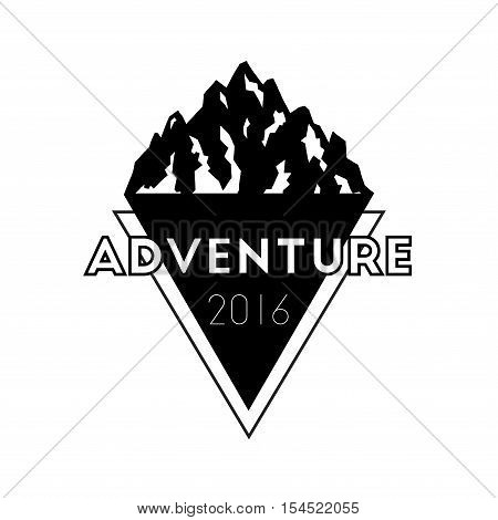 Mountain Adventure And Expedition Insignia Badge Collection. Outdoor Expedition Logo. Climbing Stamp