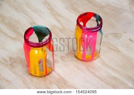 Colorful Cristal Bottles