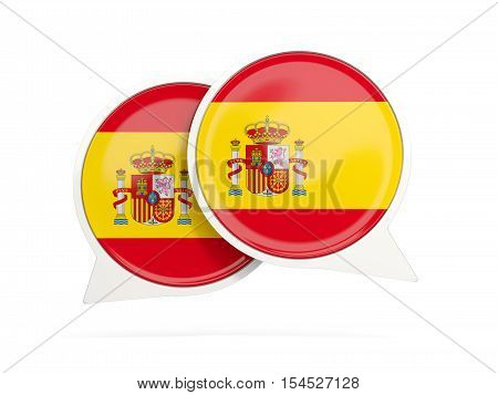 Flag Of Spain, Round Chat Icon