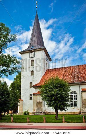 Tukums Holy Trinity Lutheran Church, Latvia