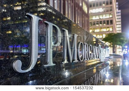 Jp Morgan Chase & Co - New York City