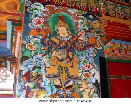 Monastery Wall Painting