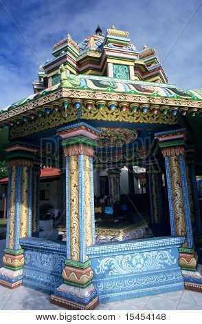 Kali Tamil Temple, Saint Andre, La Reunion Island