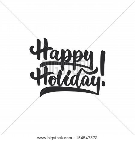 Happy Holiday - Vector & Photo (Free Trial) | Bigstock