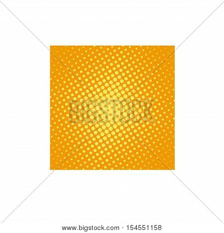 Halftone pop art background vector illustration. Pop art retro background background. Retro pop art background design graphic pattern. Halftone color dot cartoon background.