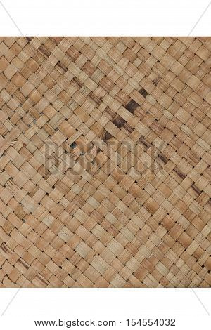 traditional thai style pattern nature background of brown handicraft weave texture bamboo surface for furniture materia