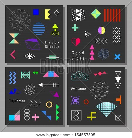 Colorful Cards Set-194.eps
