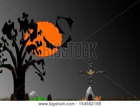 a graph representing an ordeal nightfall wilderness