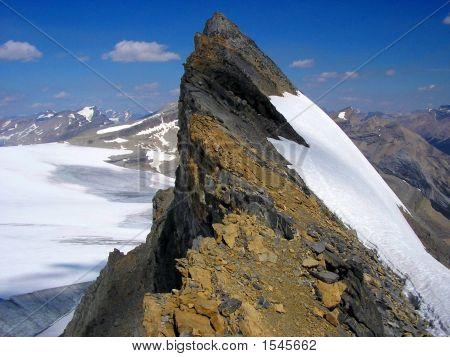Mount St Nicholas Summit Ridge, Banff National Park, Canada
