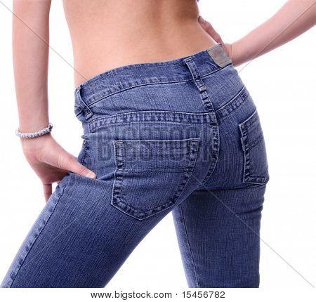 side jeans