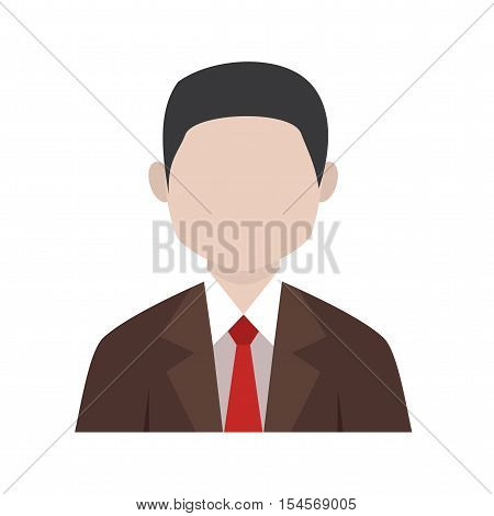 Executive, chief, boss icon vector image. Can also be used for startup. Suitable for mobile apps, web apps and print media.