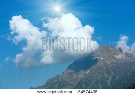 Top Mountain Summer View