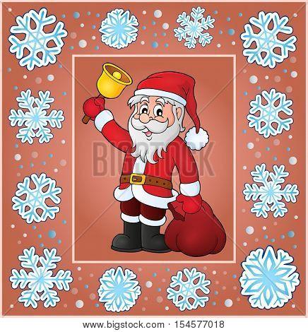 Christmas thematics greeting card 7 - eps10 vector illustration.