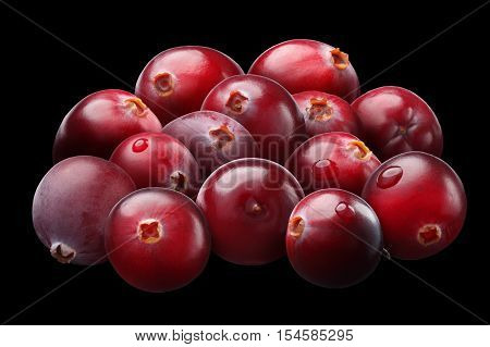 Superpositioned Pile Of Cranberries