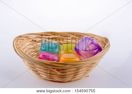 Fake Colorful Ice Cubes