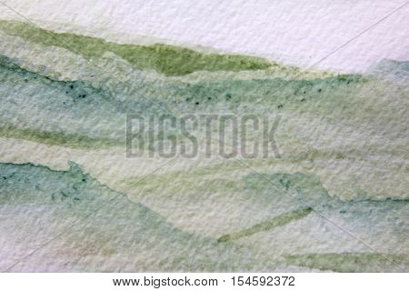 Green Watercolour Textures