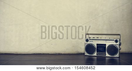 Stereo Media Equipment Radio Concept