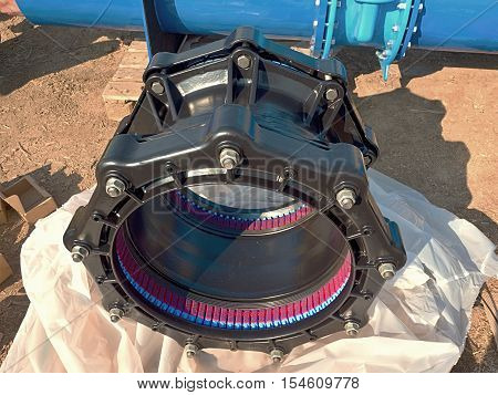 500Mm Black Waga Multi Joint Members. Spare Parts For Repairing Of  Piping