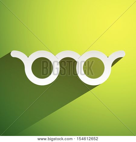 Colorful Glasses Vision, Optician, Optometry Concept Icon