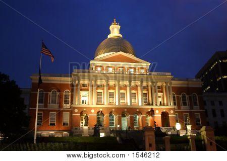 Massachusetts State House..Massachusetts State House..