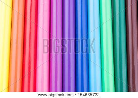 Felt-tip Pens Of Various Color