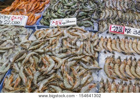 Noryangjin Fisheries Wholesale Market The 24 Hour Market Has Over 700 Stalls Selling Fresh And Dried