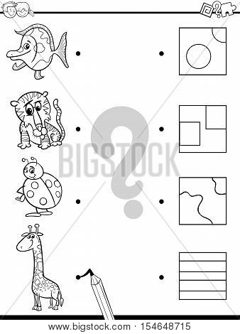 Match Elements Coloring Game