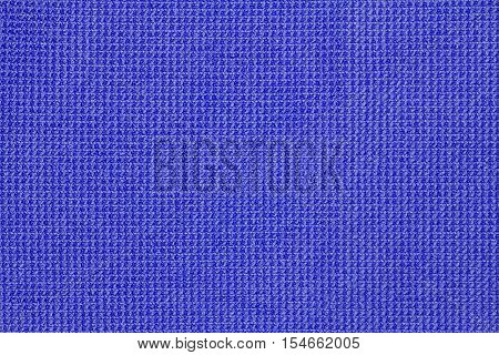 Blue microfiber cloth texture or microfiber cloth background for design with copy space for text or image.