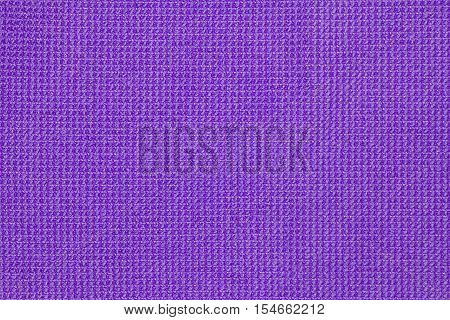 Purple microfiber cloth texture or microfiber cloth background for design with copy space for text or image.