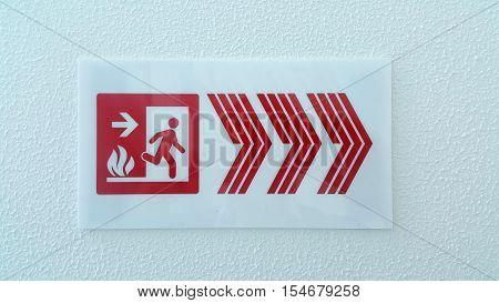 Emergency fire exit door and exit door