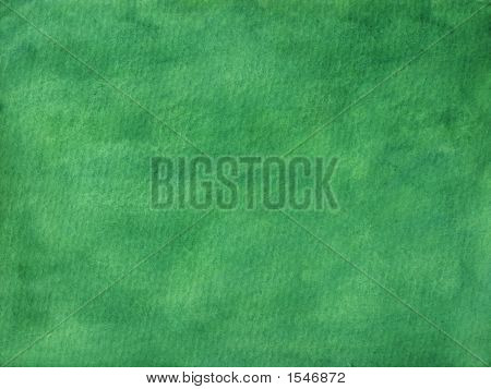 Forest Green Painted Background