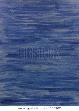 Dark Blue Painted Background