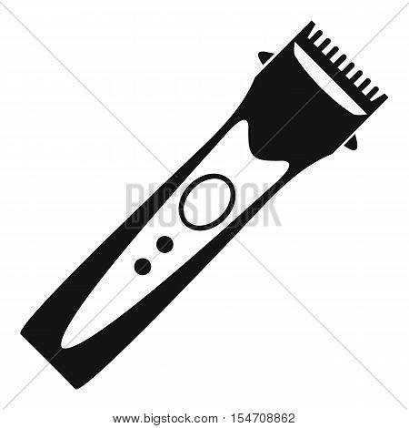 Clipper icon. Simple illustration of clipper vector icon for web