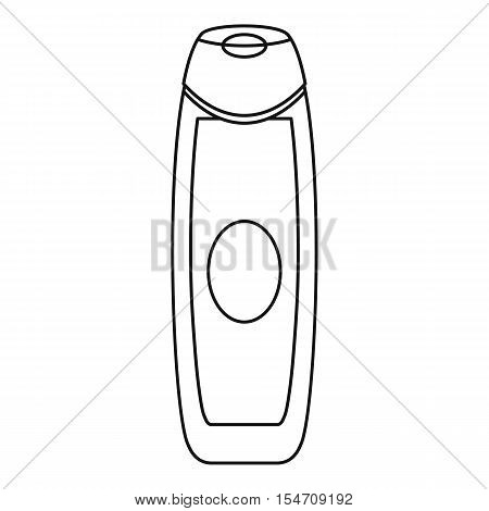 Deodorant icon. Outline illustration of deodorant vector icon for web