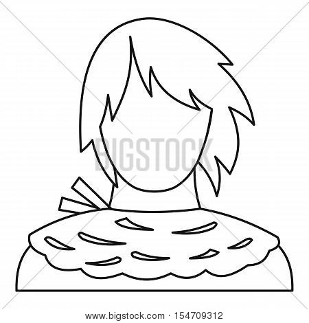 Male shorn icon. Outline illustration of male shorn vector icon for web