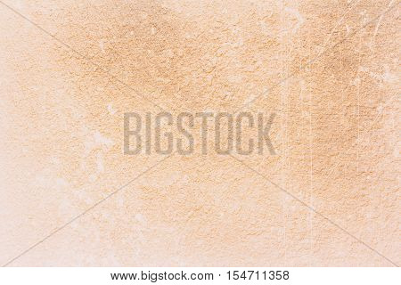 abstract old Yellow grunge cement wall textured background
