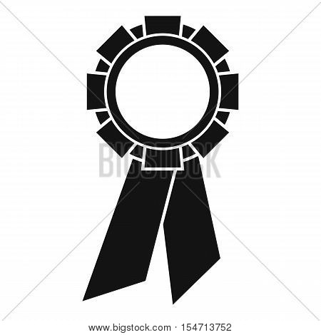 Champion medal icon. Simple illustration of champion medal vector icon for web