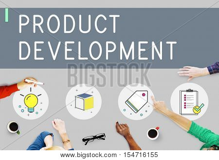 Product Development Business Faq Ideas Concept