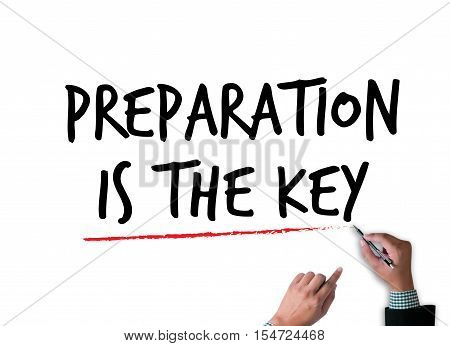 Be Prepared And Preparation Is The Key  Plan, Prepare, Perform